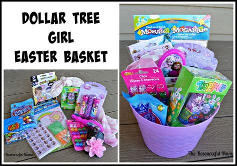 Gift ideas for 6 month old girl eskayalitim dollar tree easter baskets the resourceful mama negle Choice Image