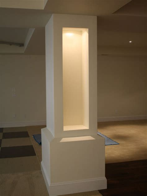 load bearing columns ideas pictures remodel  decor