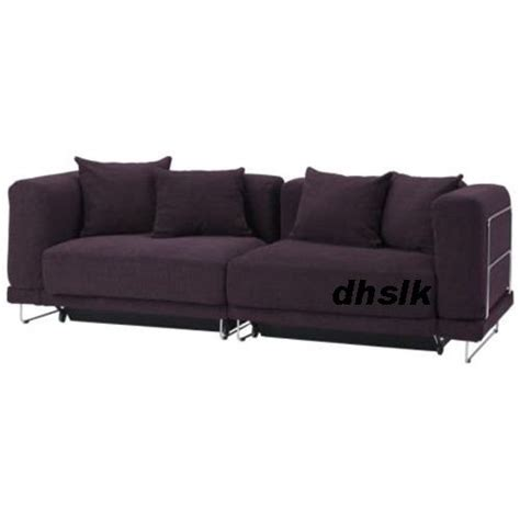 tylosand sofa bed cover uk ikea tylosand sofa bed cover rephult purple tyl 214 sand slipcover
