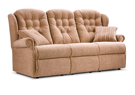 3 Seater Settees by Lynton Small Fabric Fixed 3 Seater Settee Sherborne