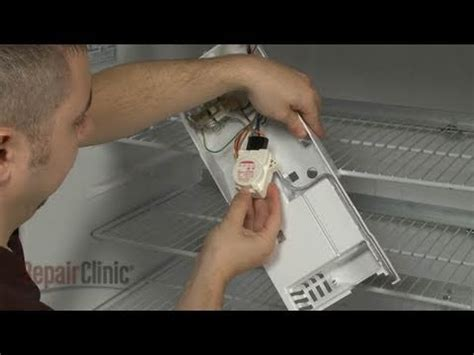 refrigerator defrost timer replacement ge refrigerator repair part wrx youtube