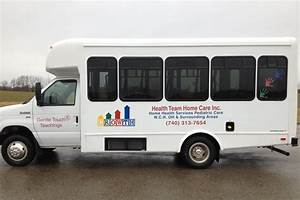 vehicle graphics lehner signs With vinyl lettering columbus ohio