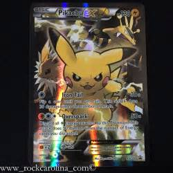 Pikachu EX FULL ART HOLO RARE XY124 NM M