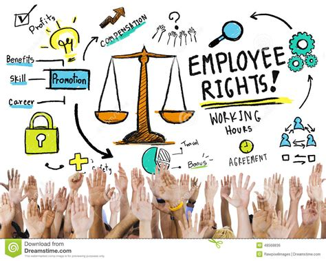 How To Make Volunteer Work Sound On A Resume by Employee Rights Employment Equality Volunteer Concept Stock Photo Image 48568836