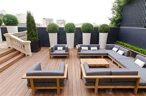 terrazzi di design arredare il terrazzo