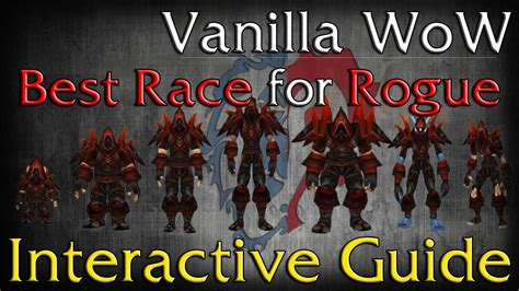 wow race vanilla rogues