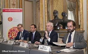 Elcano Royal Institute: Conference and Round table on ...