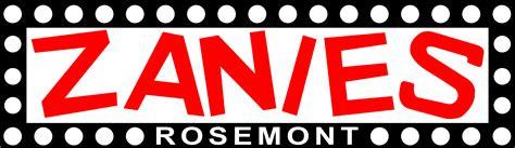 event calendar zanies rosemont