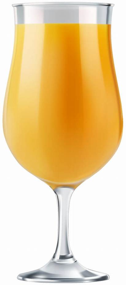 Juice Glass Clip Orange Clipart Transparent Drinks