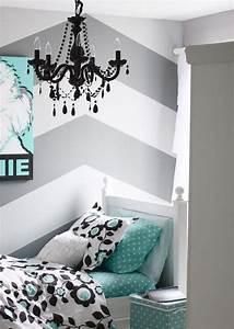 Wand Mit Streifen : die besten 25 wandgestaltung streifen ideen auf pinterest wandgestaltung streifen ideen wand ~ Indierocktalk.com Haus und Dekorationen