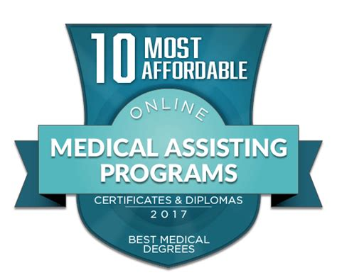 affordable  medical assistant certificate