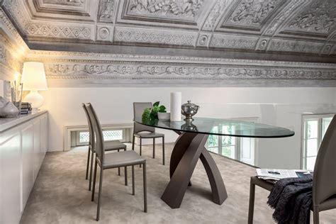 tavoli per sale da pranzo tavolo da pranzo con piano tondo in vetro per ristorante