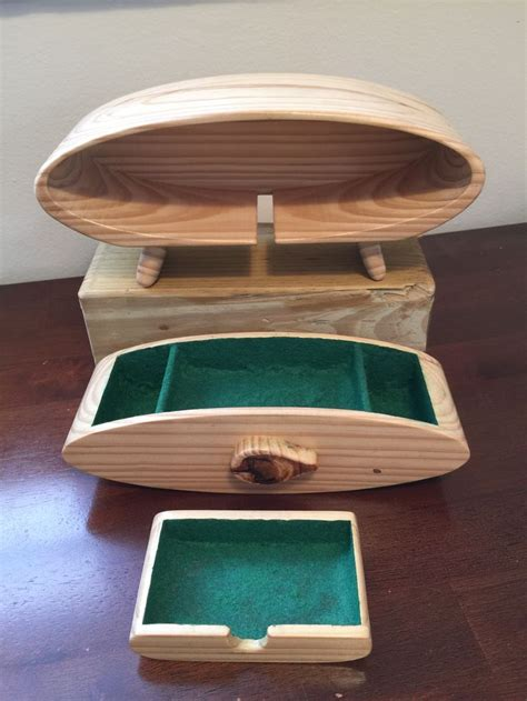 sold reclaimed pine    bandsaw box  hidden