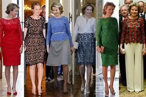 Royal Style Reine Des Belges Quand Mathilde Invite La