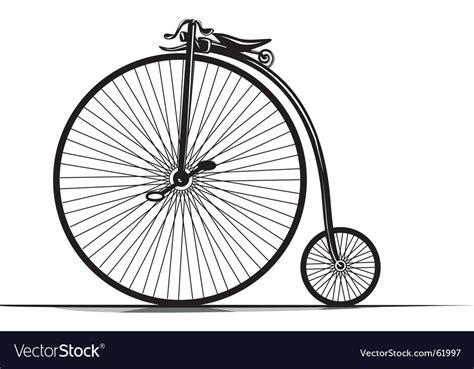 Vintage Bicycle Royalty Free Vector Image