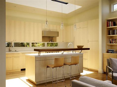 kitchen islands with raised bar 50 unique kitchen pendant lights you can buy right now 9467