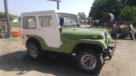 jeep kaiser cj5 1970 kaiser jeep cj5 for sale in filer idaho old car online