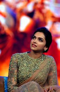 Deepika Padukone during Happy New Year promotions ...