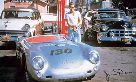 spyder porsche james dean icons history s most notable automobiles premier
