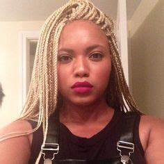 Bleach Blonde Box Braids Hair Pinterest Bleach
