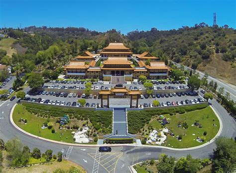 Hsi Lai Temple: Aerial Photography: Jesse Kaplan Photography