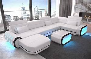 U Sofa Xxl : led furniture u shaped leather sofa sofadreams ~ A.2002-acura-tl-radio.info Haus und Dekorationen