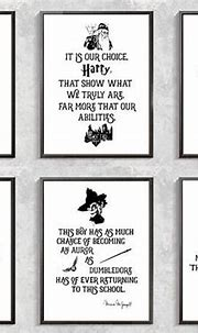 Harry Potter Print Harry Potter Quotes Posters Severus Snape