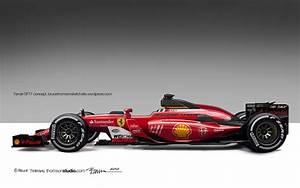 Koncepciórajzon a 2017-es F1-es Ferrari: BRUTÁLIS