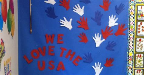 patriotic bulletin board school ideas pinterest