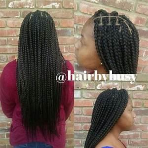 Large waist length box braids #boxbraids #protectivestyles ...