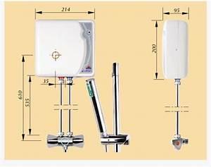 Chauffe Eau Electrique Instantané : chauffe eau instantan de douche 5 5 kw kospel primus ~ Dailycaller-alerts.com Idées de Décoration