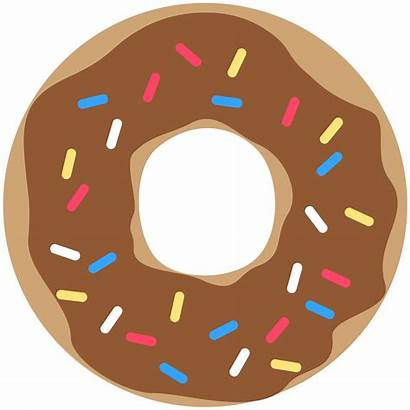 Donut Printable Banner Party Decor Brown Printables