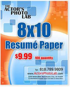 8x10 actor resume paper actor resume printing on back of for 8x10 resume paper
