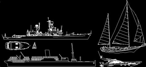 boats dwg elevation for autocad designs cad