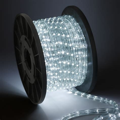 rope led lights 50 100 150 300 led rope lights home in outdoor