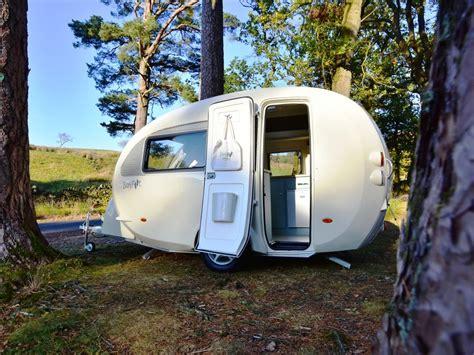 small lightweight travel barefoot practical caravan