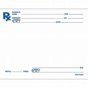 image gallery prescription pad With template for prescription pad