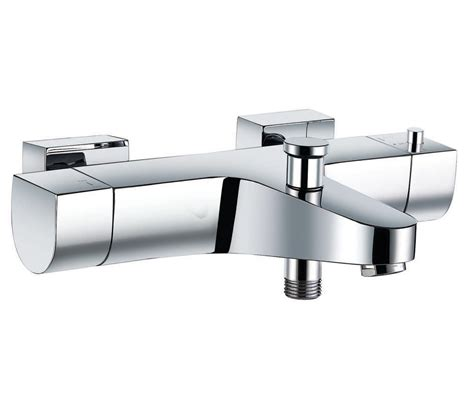 Thermostatic Bath Taps With Shower Mixer by Base Thermostatic Wall Mounted Bath Shower Mixer B657