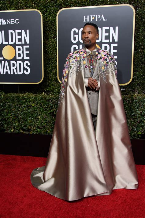 Best The Red Carpet Metallics Billy Porter Golden