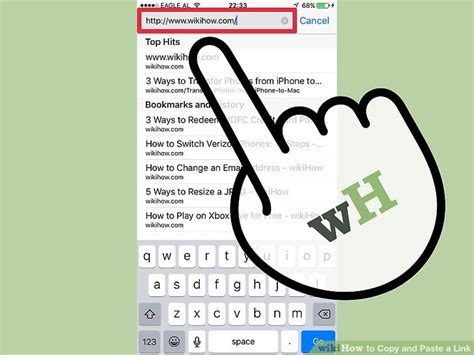 how to copy and paste on iphone 5 3 ways to copy and paste a link wikihow How T