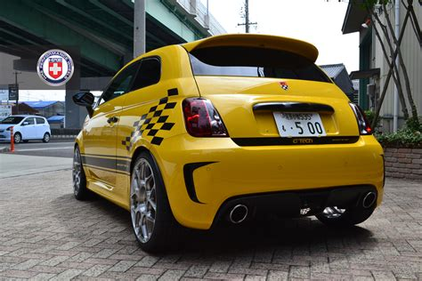 Fiat 500 Abarth Tune by G Tech Fiat 500 Sportster On Hre Wheels Autoevolution