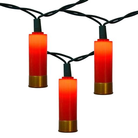 shotgun shell string lights