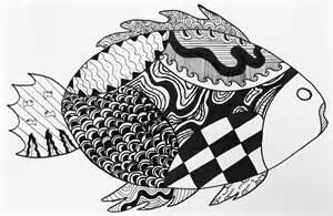 Zentangle Animal Art