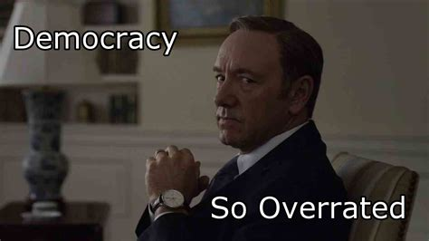 Frank Underwood Meme - house of cards season 3 is here are you ready