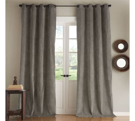 velvet grommet curtain panels rooms