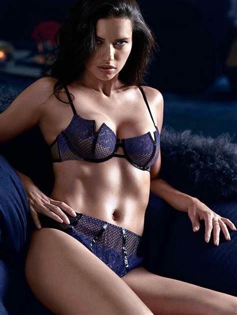 Adriana Lima Super Sexy Victoria S Secret Lingerie Photos Gutter Uncensored