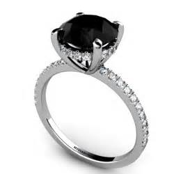 cheap black engagement rings why choose black engagement rings pink earrings