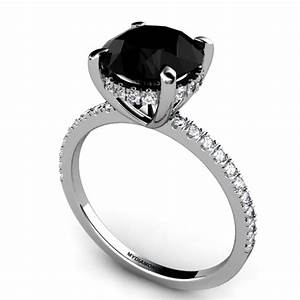 All About Black Diamond Engagement Rings Black Diamond Ring