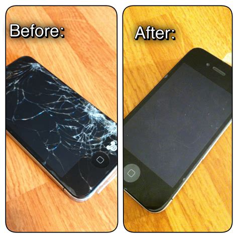 How To Replace A Broken Iphone Screen Inexpensively