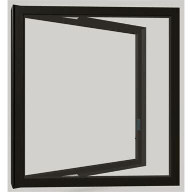 modern casement push  window marvin  bim object  archicad sketchup revit bimobject